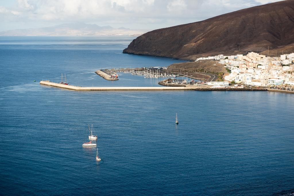 Vista de la Bahía de Gran Tarajal. Foto Ayuntamiento de Tuineje.