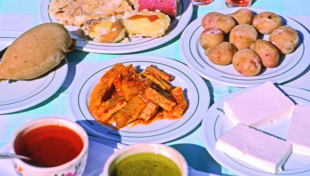 Gastronomía puerto de cruceros de Morro Jable