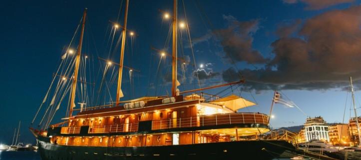 M/S Galileo, uno de los preciosos barcos de la flota de Variety Cruises.