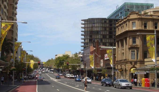 Image de croisiere australie oxford street sydney
