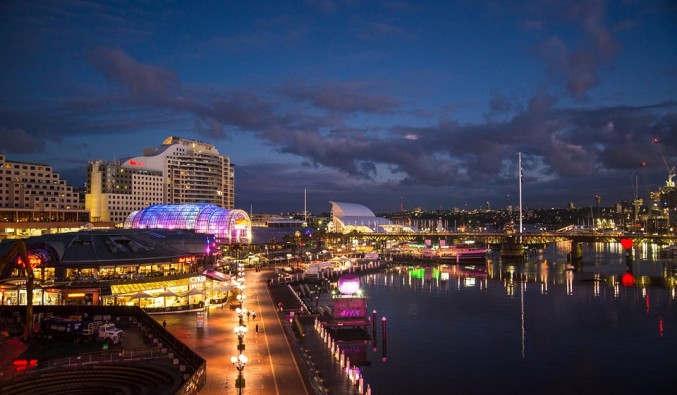 Image de croisiere australie port darling sydney