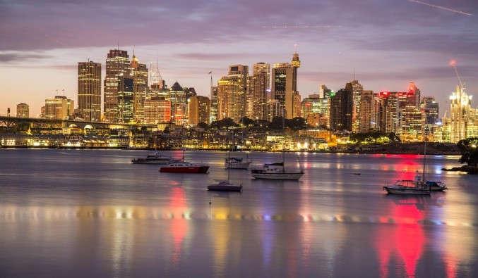 Image de croisiere australie sydney harbour