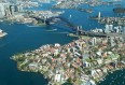 Image de croisiere australie vue aerienne port sydney