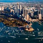 Port de croisières de Sydney ou Port Jackson