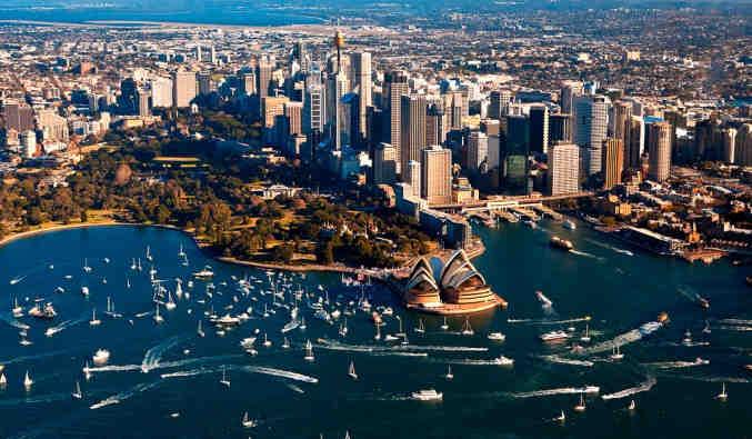 Image de croisiere australie vue sydney