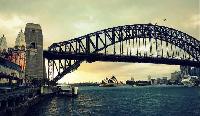 Image de croisiere australie sydney bridge