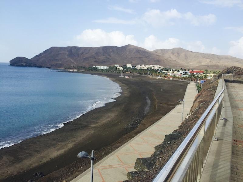 Puerto de cruceros de Gran Tarajal Vista Mirador Las Playitas