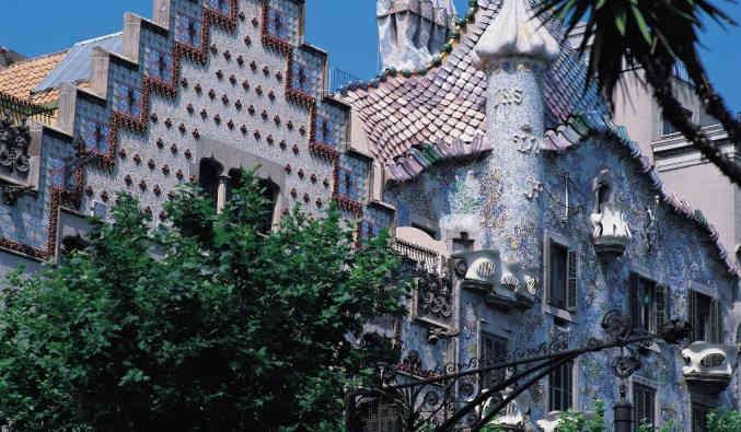 image de barcelone, casa batllo
