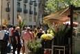 image de port de croisières de Barcelone la rambla