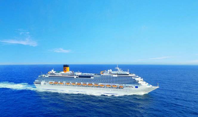 Barco Costa Fascinosa de Costa Cruceros