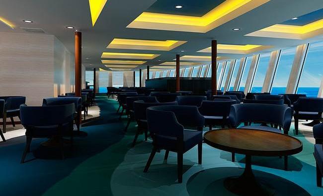 Imagen de un Bar del barco Aranui 5