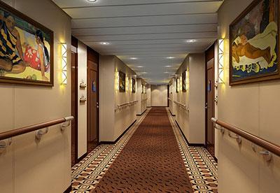 Imagen de un Pasillo del barco Aranui 5