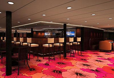 Imagen del Veranda Bar del barco Aranui 5