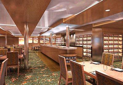 Imagen de un Restaurante del barco Aranui 5