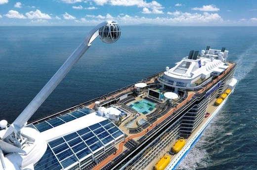 Imagen de la Cubierta del barco Ovation of the Seas