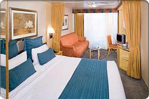 Imagen de un Camarote con balcón del barco Splendour of the Seas
