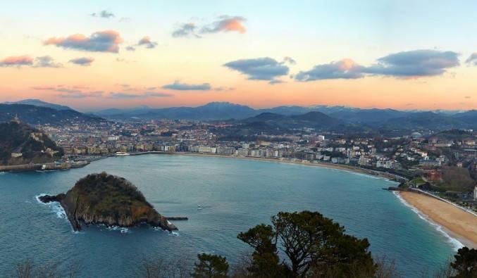 Pays Basque Vue de Donosita