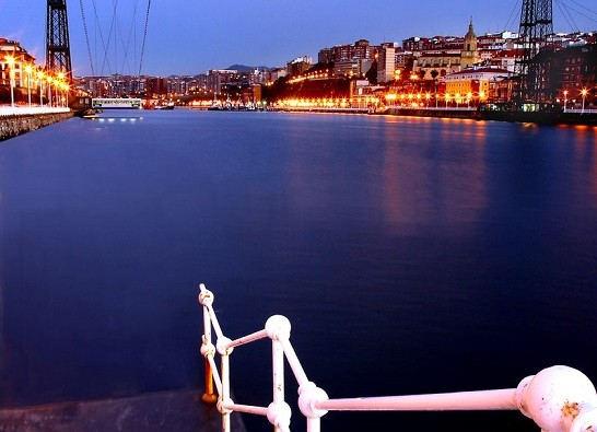 Pays Basque Port croisières Bilbao pont Bizkaia