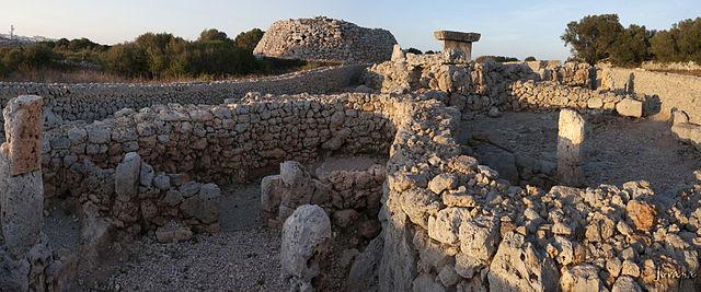 Menorca Talayótica Puerto de cruceros de Menorca Poblat de Trepucó.