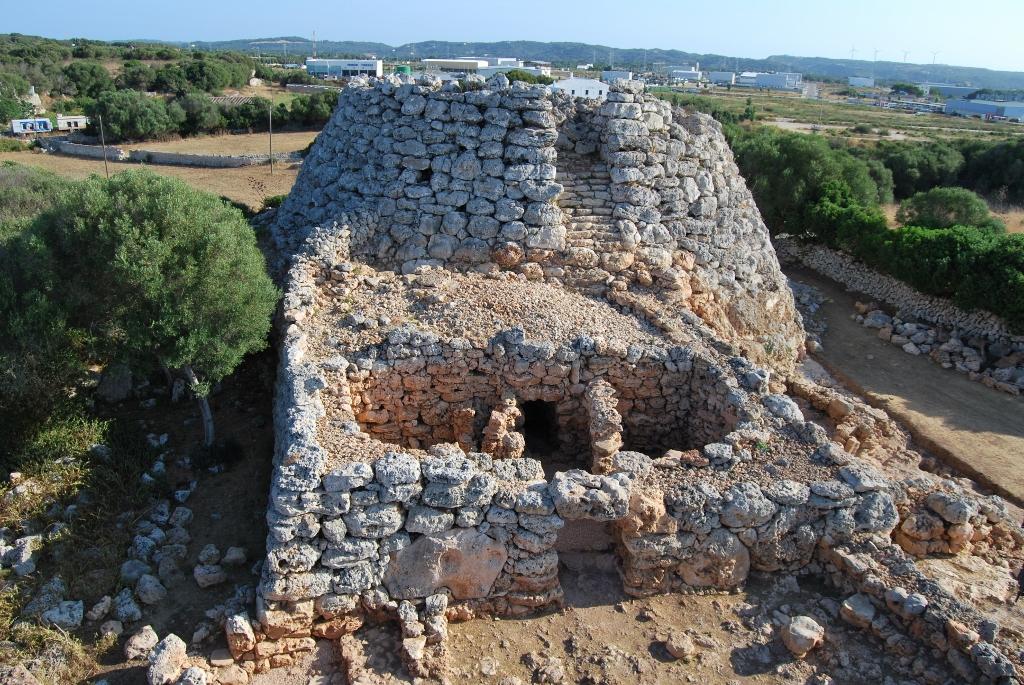 Menorca Talayótica Puerto cruceros Menorca Talaiot Cornia Nou
