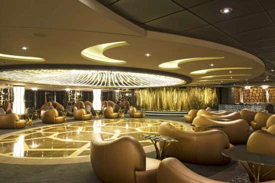Imagen del Salón Safari del barco MSC Preziosa