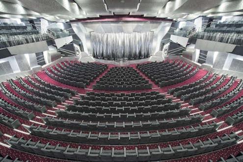 Imagen del Teatro Platinum del barco MSC Preziosa