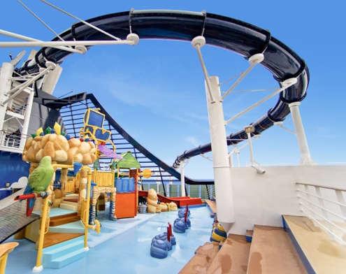 Imagen de una Zona de Juegos del barco MSC Preziosa