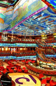 Imagen de la Recepción del barco Costa Fortuna