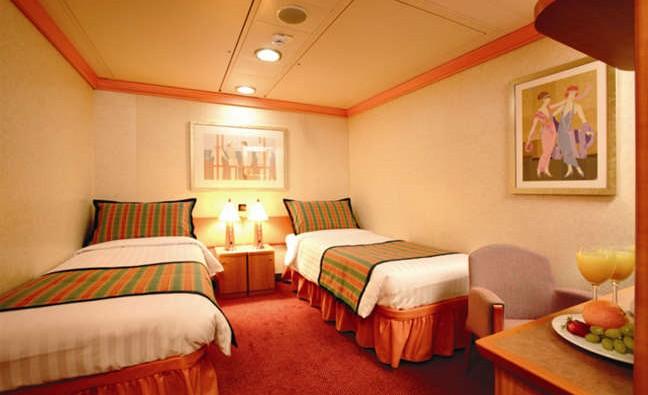 Imagen de un Camarote Interior del barco Costa Fortuna