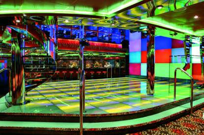 Imagen de la Discoteca del barco Costa Fortuna