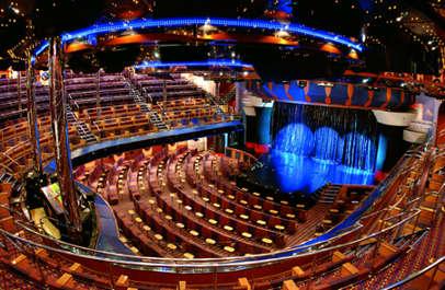 Imagen del Teatro Rex del barco Costa Fortuna
