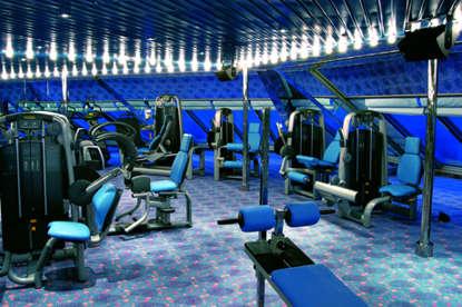 Imagen de la Zona Fitness del barco Costa Fortuna