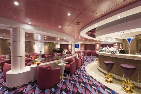 Imagen del Bar Cabala del barco Msc Opera