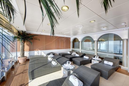 Imagen del Solarium del barco Msc Opera