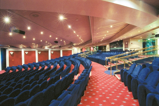 Imagen del Teatro del barco Msc Opera