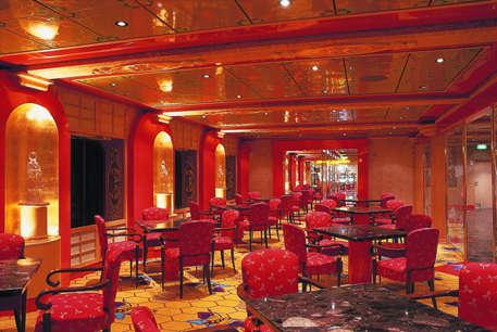 Imagen de un Bar del barco Costa Atlántica