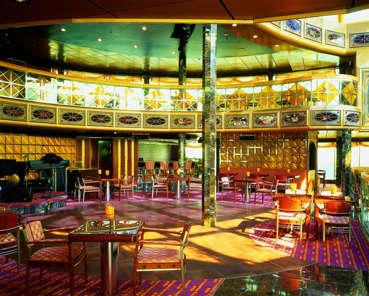 Imagen de un Resturante del barco Costa Atlántica