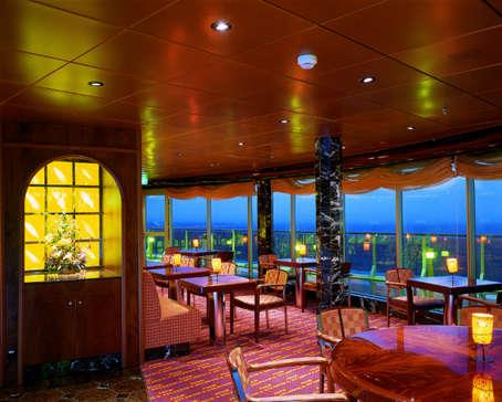 Imagen de un Resturante del del barco Costa Atlántica