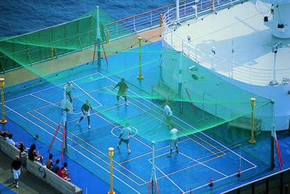 Imagen del Área de Fitness del barco Costa Atlántica