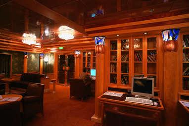 Imagen del Punto de Internet del barco Costa Atlántica