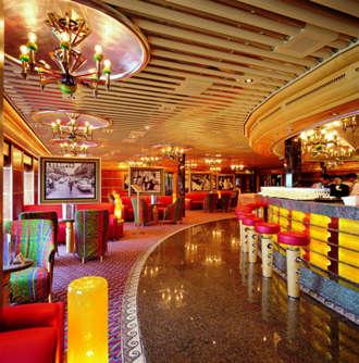 Imagen del Salón Via Veneto del barco Costa Atlántica