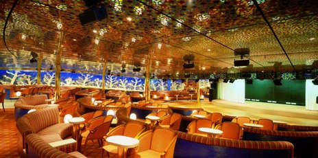 Imagen del Teatro del barco Costa Atlántica