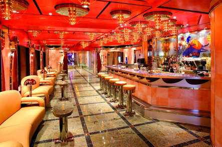 Imagen del Vanilla Bar del barco Costa Deliziosa de Costa Cruceros