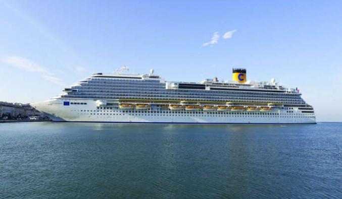 Barco Costa Diadema de Costa Cruceros