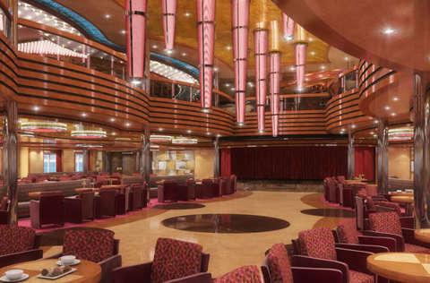 Imagen del Gran Bar del barco Costa Diadema