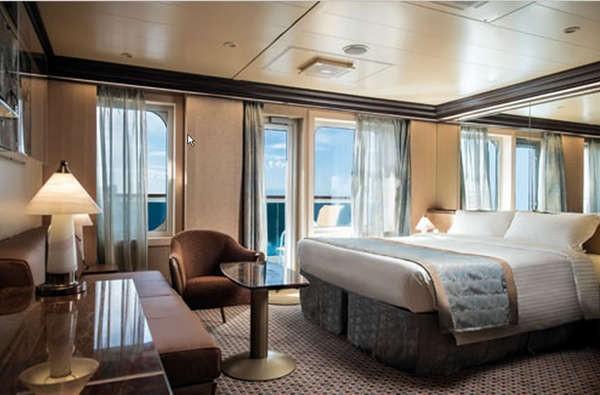 Imagen de una Gran Suite del barco Costa Diadema