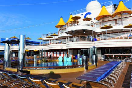 Imagen de la Cubierta del barco Costa Favolosa