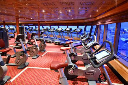 Imagen del Area de Fitness del barco Costa Luminosa