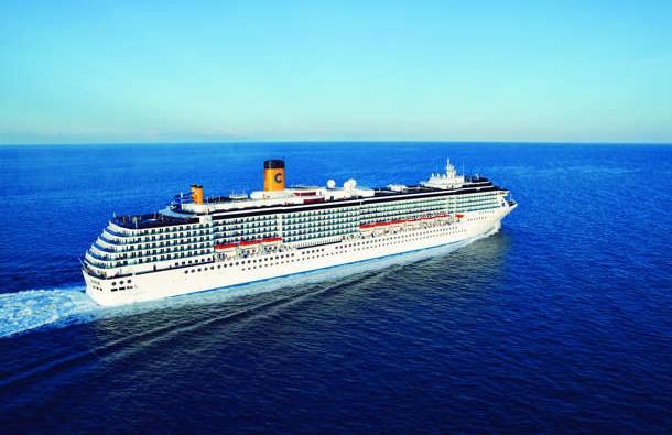 Barco de Cruceros Costa Mediterranea