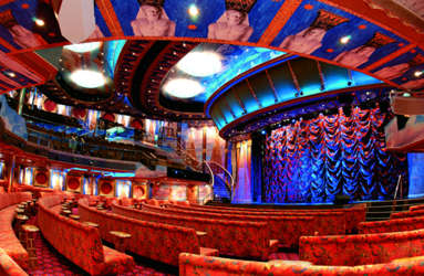 Imagen del Teatro Osiris del Barco Costa Mediterranea